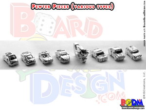 Pewter Game Pieces