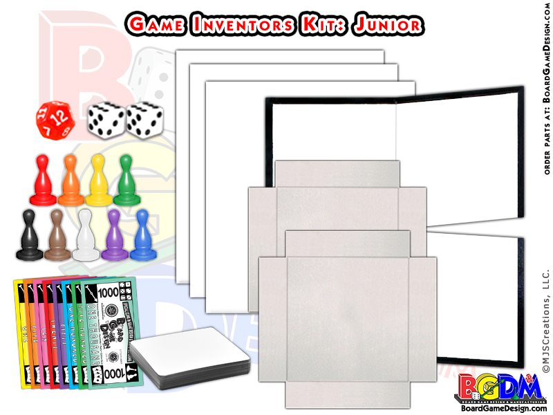Game Inventors Kit (Junior) Game Starter kit.