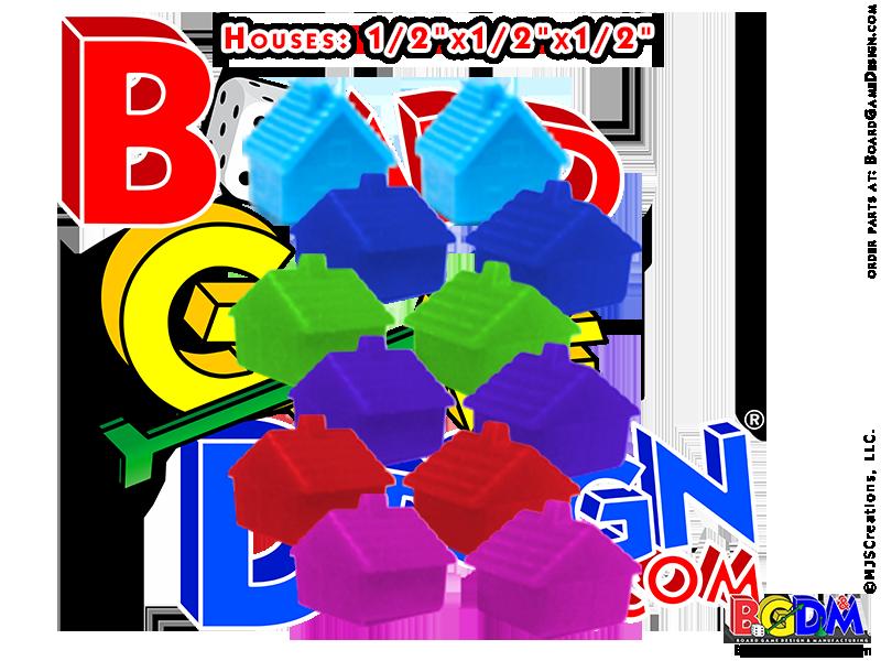 Custom Monopoly Houses