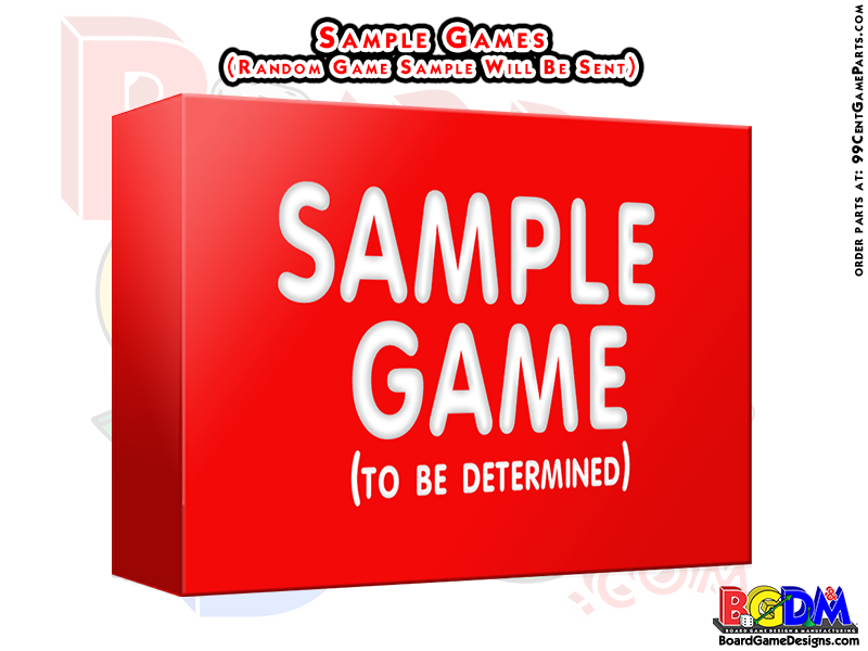 Sample Games/ Sample Production Game Samples