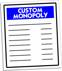Personalized Monopoly Games & Fund Raiser Monopoly Game Company