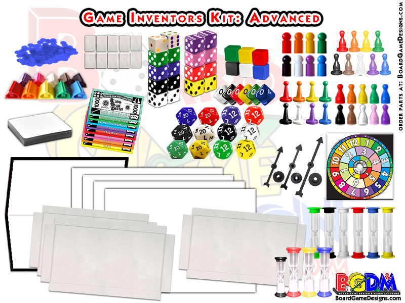 Game Inventors Kit with hundreds of pieces!