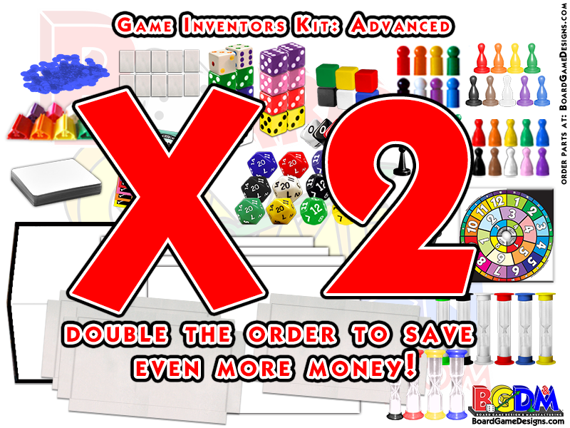 Game Inventors Kit (Advanced X2) hundreds of pieces! Doubled, get 2 times the order.