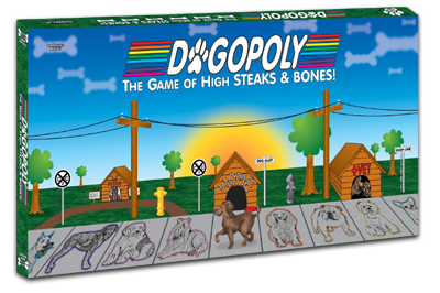 DOGopoly - The Game of High Steaks & Bones
